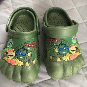 Boys Teenage Mutant Ninja Turtles Slip On Water Beach Pool Shoes 5  7 8 9 10 NEW